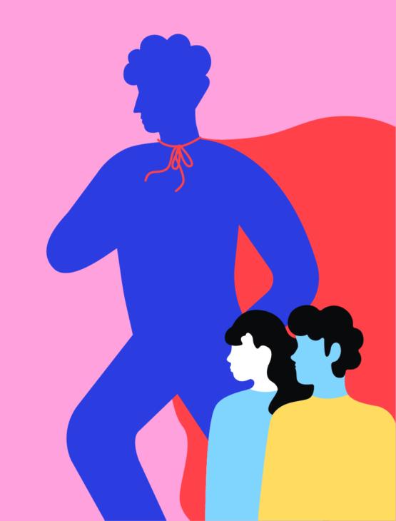 Разведенка с «прицепом»: как одинокий отец воспитывал двоих детей